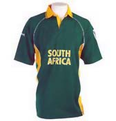 replica shirt of south african cricket team