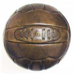 leather balls and footballs made of leather