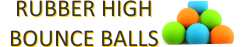 high bounce balls in rubber